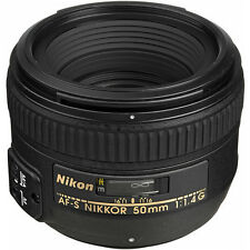 Nikon AF-S NIKKOR 50mm f/1.4G Lens for Nikon DSLR Cameras - NEW!