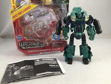 TRANSFORMERS PRIME RID SERGEANT KUP COMPLETE! ROBOTS IN DISGUISE!