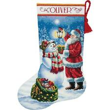 Dimensions Gold Collection Cross Stitch Kit - Holiday Glow Stocking