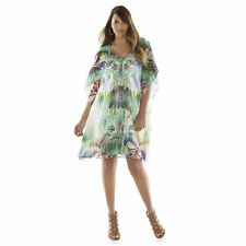 JENNIFER LOPEZ MIAMI PALMS EMBELLISHED CAFTAN DRESS PLUS SIZE 1X (16W-18W);NWT