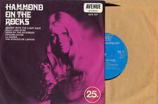 HAMMOND ON THE ROCKS - VARIOUS ARTISTS - AVENUE EP - U.K. PRESSING  - 1971