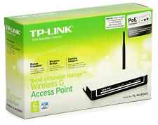 Power Wireless Access Point TP-LINK (TL-WA500 G) 2,4 GHz 54 Mbps High
