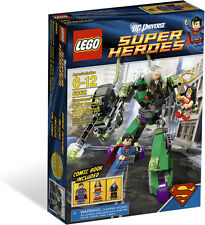 Brand New Sealed Lego SuperHeroes 6862 Superman vs Power Armor Lex(Bricks House)