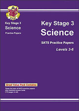 KS3 Science Practice Papers - Levels 3-6 by CGP Books (Paperback, 2002)