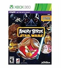 NEW Xbox 360 Angry Birds Star Wars Game Factory Sealed Free Shipping !