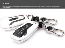 White Smart FOB Remote Key Cover Bag Shell Fit for Ford Taurus Explorer Mustang
