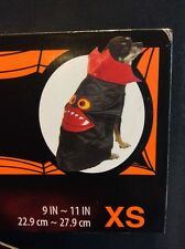 Dog Vampire Cape Halloween Costume - New Size XS