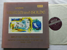 WAGNER/SOLTI Tristan & Isolde  FRENCH DeLuxe 5 LP Box set DECCA SET 204/8