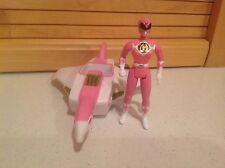"""1995 McDonald's Mighty Morphin' Power Rangers Pink Ranger 4"""" Action Figure Set"""