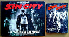 SIN CITY - MICKEY ROURKE, BRUCE WILLIS - DVD + MAKING OF THE MOVIE HARDBACK BOOK