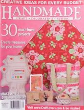 Handmade Magazine - Craft Decorating Sewing Vol 28 No 12 Lovely Gifts For Easter