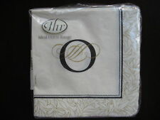 """PAPER COCKTAIL NAPKIN MONOGRAM """"O"""" SET/20 NEW IN PACKAGE"""