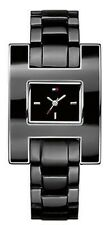 Tommy Hilfiger Women black dial jacquelyn black stainless steel watch 1781187