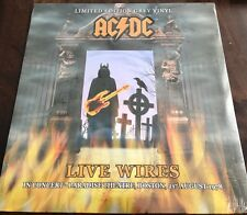 AC/DC - LIVE WIRES - BOSTON 8/21/78 GREY COLORED VINYL LIMITED EDITION IMPORT LP