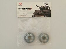 HENG LONG RADIO CONTROL SHERMAN 1/16 METAL WHEEL IDLERS SET