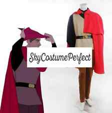 Sleeping Beauty Prince Phillip woods suit costume cosplay disney FAST FREE SHI.