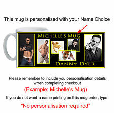 Danny Dyer Mug custom printed with your name unique unusual gift id12610