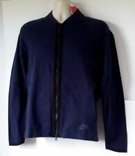 New Men's Nike Sportswear Tech Knit Bomber Jacket Navy Sz S 810558 451 $250