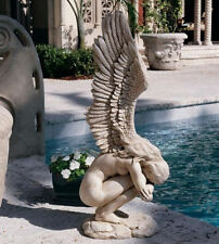 Angel Patio Statue Garden Sculpture Outdoor Yard Lawn Decor Art Home Wings Resin