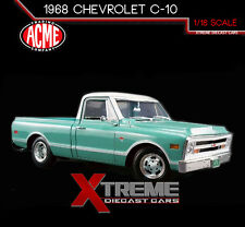 ACME A1807201 1:18 1968 CHEVROLET C-10 CUSTOM PICKUP TRUCK