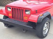 1993 Jeep Wrangler YJ, XJ & Cherokee Angry Eyes Mad Headlight Decal V2 BAD BOY!!