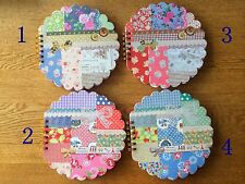 Cute pretty classic floral Vintage quality notebook drawing pad memo diary