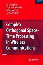 Complex Orthogonal Space-Time Processing in Wireless Communications, All Amazon