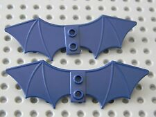 Lego Super Heros -  2 Dark Blue Batman wings - new condition !!