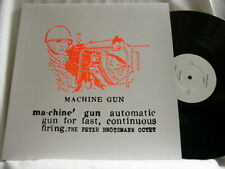 PETER BROTZMANN Machine Gun Han Bennink Evan Parker 180 gram LP Willem Breuker