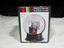 Photo Frame Water Globe ~ NIB
