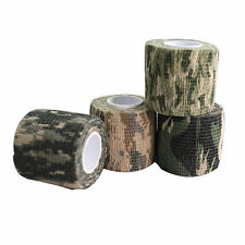 Self-adhesive Non-woven Camouflage WRAP RIFLE GUN Hunting Camo Stealth Tape EF