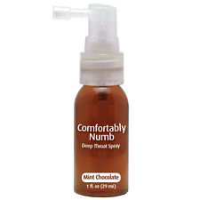 Comfortably Numb Deep Throat Spray Mint Chocolate suppress gag reflex