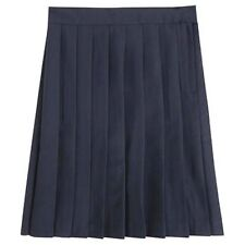 Navy Blue Pleated Skirt School Uniform French Toast Girls Polyester Size 6 New