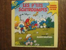BD LES SCHTROUMPFS 45 TOURS FRANCE MARIE DAUPHIN PEYO
