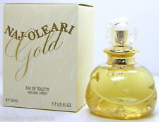Naj-OLEARI GOLD 50 ml EDT Spray Nuovo OVP