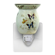 Butterfly Wall Plug In Scented Oil Tart Burner Warmer Night Light Lamp Gift 539