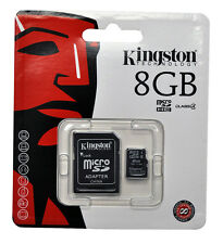 8GB Kingston SD/SDHC Memory Card For Samsung J1 J1Ace J2 J3 J5 J7 Galaxy A1 A7