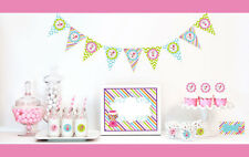 Sweet Shoppe Theme Birthday Party Decorations Starter Kit