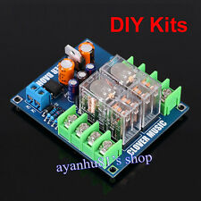 AC 12V-24V LM7812 UPC1237 Speaker Protection Board With Double OMRON Relay Kits