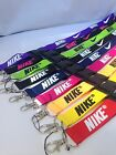 NIKE Lanyard Detachable Keychain iPod Camera Strap Badge ID Running Cell Holder