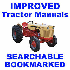 Case JI 200B 300B Series TRACTOR Shop Maintenance SERVICE MANUAL - SEARCHABLE CD