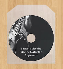 Learn how to play the Electric Guitar lessons, DVD video guide tutorial tuition