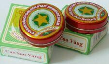 Golden Star Aromático Bálsamo-Remedio natural-Para Frío, moqueo.. 10g Caja
