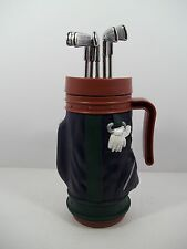 Golf Clubs Bag Travel Cup with Clubs on Lid - Fun on Course!