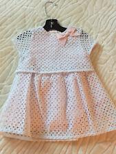 Kate Spade Baby Girl Easter Spring Eyelet Dress & Matching Bloomer 6M $58 New