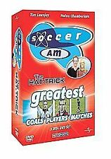 NEW SEALED 3 Disc DVD BOX SET SOCCER AM HAT-TRICK Greatest Goal Player & Matches