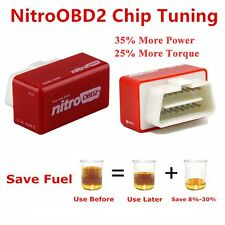 OBD2 Plug&Drive Nitro Performance Chip Tuning interface Box for Diesel Cars AO