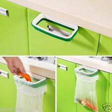 Green Hanging Kitchen Cupboard Cabinet Tailgate Stand Storage Garbage Bags Rack