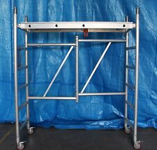 Aluminium Mobile Scaffold F20,Platform Height 1.96m Safety High Work Platform