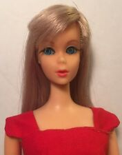 Blue Eyeliner Silver Blonde Twist 'N Turn TNT Barbie Doll Sheath Sensation
